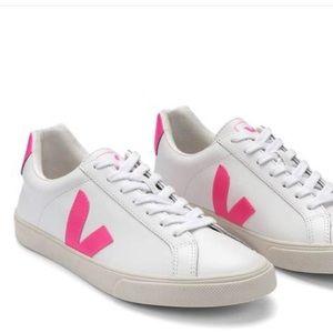 Veja Neon Pink Esplar Sneaker EUR 37/ US 6